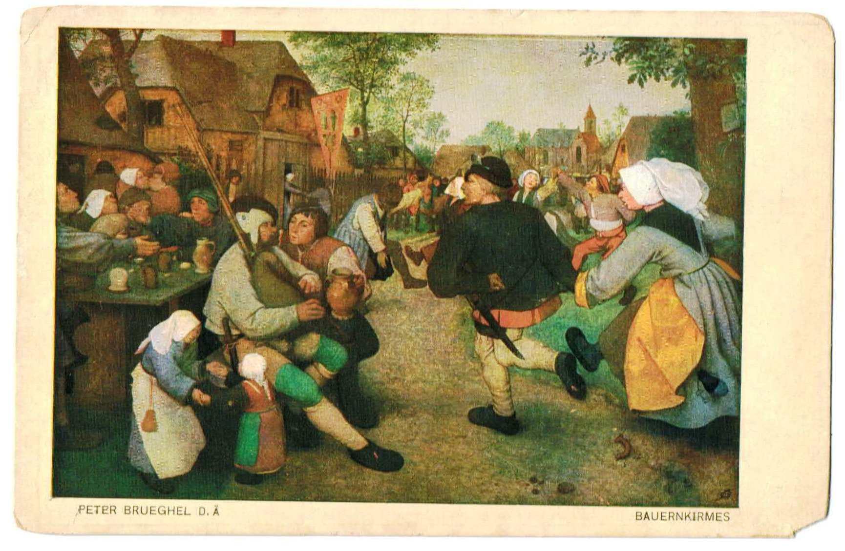 農民の踊り ブリューゲル                                     [g1586]