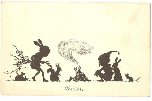 画像1: 妖精と動物たちの焚き火 (1)