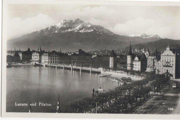画像1: スイス ルツェルン Luzern und Pilatus (1)
