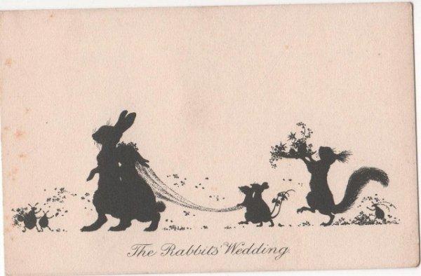 画像1: ウサギさんの結婚式 (1)