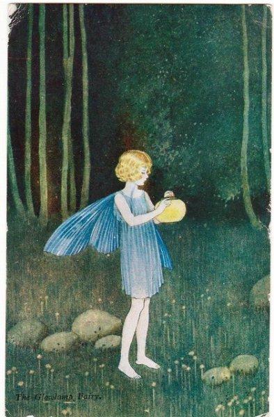画像1: ランタンと妖精 Ida Outhwaite (1)