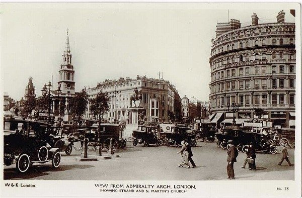 画像1: ロンドン ストランドの交差点 (未使用) (1)