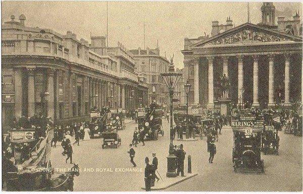 画像1: ロンドン バンク周辺と王立取引所 (未使用) (1)