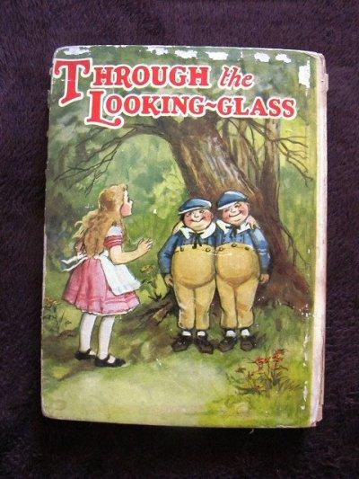 画像1: アンティーク本・洋書★鏡の国のアリス 1928年 ブランデージ
