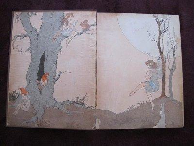 画像3: アンティーク本・洋書★「不思議の国のアリス」 童話集 1929年 大判