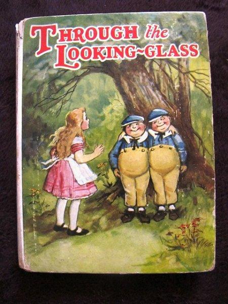 画像1: アンティーク本・洋書★鏡の国のアリス 1928年 ブランデージ (1)