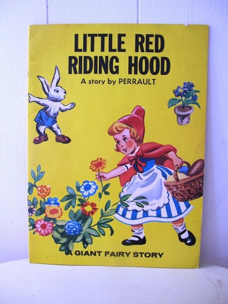 画像1: Vintage Book 洋書 赤ずきんちゃんとオオカミ Little Red Riding Hood (1)