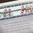 画像3: Postcard クリスマス 小さなサンタさん 綱引き  (3)