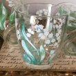 画像1: Vintage Glass ビンテージ スズランのグラス (5個セット) (1)