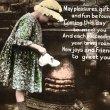画像1: Postcard 暖炉の前の猫と女の子 イギリス1930年 (1)