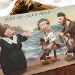 画像1: Postcard  お人形さんの競馬レース KISSING CUP'S RACE イギリス1910年 (1)