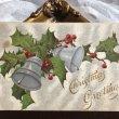 画像1: ▼SALE 500▼ Postcard クリスマス ホーリーと銀色のベル (1)