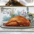 画像1: ▼SALE 500▼ Postcard 感謝祭 Thanksgiving サンクスギビング 七面鳥の丸焼き (1)