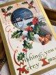 画像3: ▼SALE 500▼ Postcard クリスマス ベルとホーリー (3)