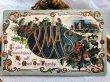 画像3: ▼SALE 500▼ Postcard クリスマス ホーリーとロビン (3)