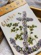 画像2: ▼SALE 500▼Greeting Card  スミレのお花のアンカー  (2)