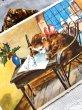 画像2: Postcard  Bonne Annee  お手紙と猫さん フランス (未使用) (2)