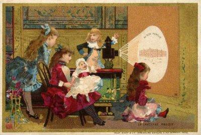 画像2: Antique Magic Lantern Glass Slide アンティーク マジックランタン・スライド 赤ずきんちゃん 4