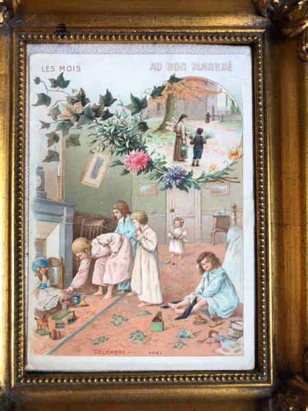 画像1: Bon Marche   ボンマルシェカード クリスマスの朝の子どもたち (1)