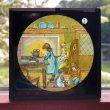 画像1: Antique Magic Lantern Glass Slide アンティーク マジックランタン・スライド 赤ずきんちゃん 1 (1)